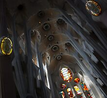 The Fascinating Interior of Sagrada Família - Antoni Gaudi's Masterpiece by Georgia Mizuleva