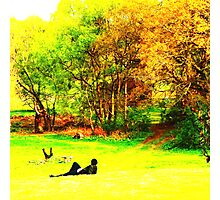 English Country Scene One Photographic Print