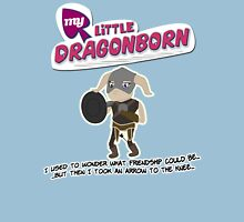 My Little Dragonborn Womens Fitted T-Shirt