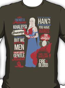 Quotes of a Khaleesi T-Shirt