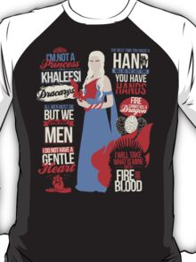 Quotes of a Khaleesi T-Shirt