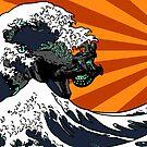 Kaiju Vs Jaeger (Japanese Wave) by B4DW0LF