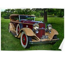 1932 Lincoln KB Touring Car Poster