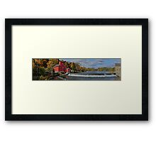 Historic Panorama  Framed Print