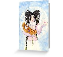 Blessing Moon Greeting Card
