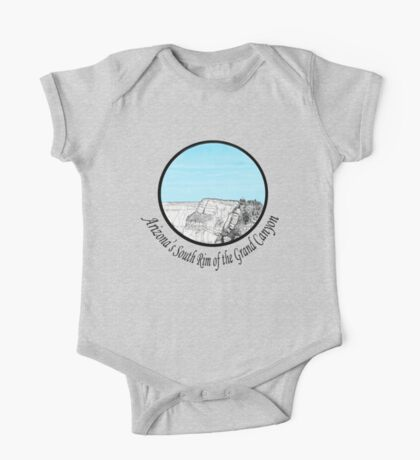 A GRAND Canyon sketch One Piece - Short Sleeve