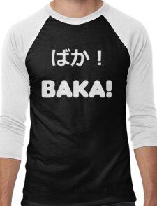 BAKA! Vector Men's Baseball ¾ T-Shirt