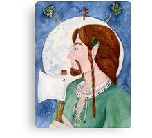 Tínne the Holly King Canvas Print