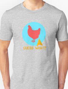 Guess What? Chicken Butt Funny T-Shirt