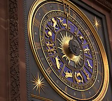 Zodiac Clock by Remy Porter