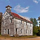 Hopper School House by Lisa G. Putman