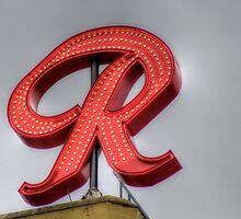 """The New Rainier """"R"""" by Sue Morgan"""