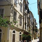 A street in Corfu town by Newstyle