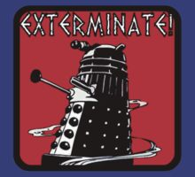 Dalek exterminate! t shirt by razorcuts
