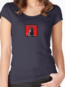 Dalek exterminate! t shirt Women's Fitted Scoop T-Shirt