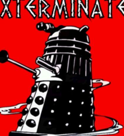 Dalek exterminate! t shirt Sticker