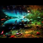 Underwater Autumn by RockyWalley