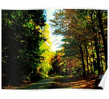 Autumnal rest Poster