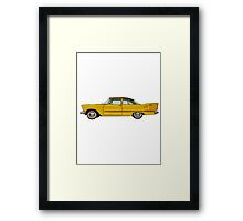 1957 Plymouth Plaza Framed Print