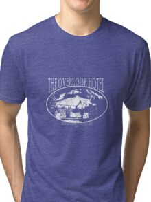 Overlook Hotel White Tri-blend T-Shirt
