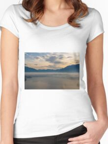 Sea of fog Women's Fitted Scoop T-Shirt