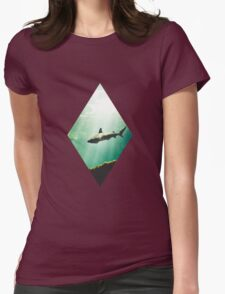 SharkSea Womens Fitted T-Shirt