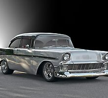 1956 Chevy 'Post' Coupe by DaveKoontz