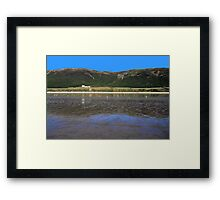 Rhossili Bay Framed Print