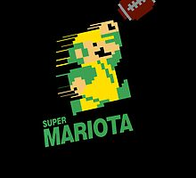 Super Mariota iPhone by Scottcamstewart