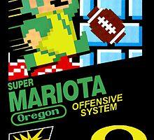 Super Mariota Poster by Scottcamstewart
