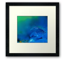 Cool Water.  Framed Print