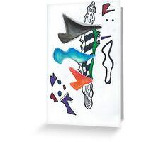 Abstract Shapes Greeting Card