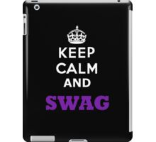 Keep Calm and Swag iPad Case/Skin