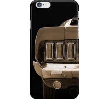 Luxury (sepia) iPhone Case/Skin