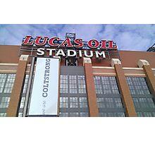 Lucas Oil Stadium - ColtStrong Photographic Print