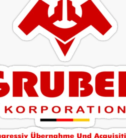 Gruber Korporation Sticker