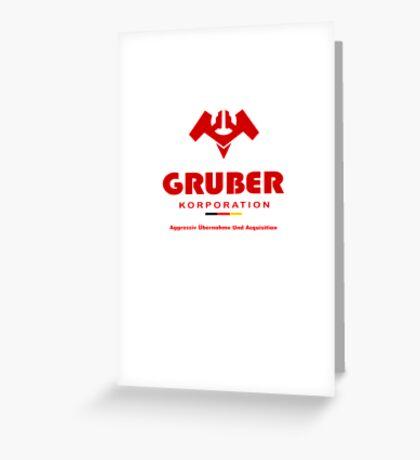 Gruber Korporation Greeting Card