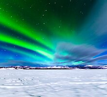 Intense display of Northern Lights Aurora borealis by ImagoBorealis