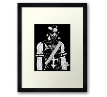 Black Metal Framed Print