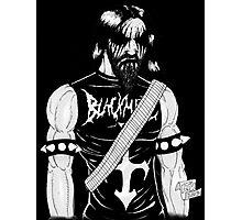 Black Metal Photographic Print