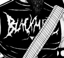Black Metal Sticker