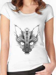 Sprouting Fur Women's Fitted Scoop T-Shirt