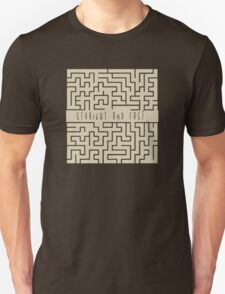 Straight and Fast. Unisex T-Shirt