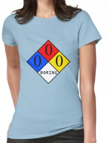 NFPA - BORING Womens Fitted T-Shirt