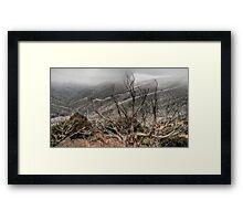 Mount Hotham in Autumn Framed Print