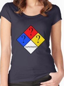 NFPA - SUPERHERO Women's Fitted Scoop T-Shirt