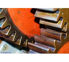 Gears Photographic Print
