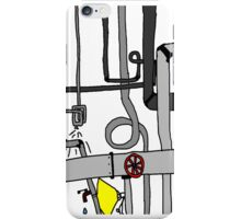Pipes, Wires and lights!!!! iPhone Case/Skin