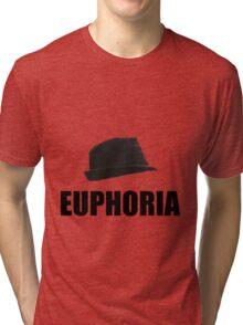Euphoric Fedora Tri-blend T-Shirt