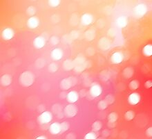 Warm Pink-Orange by HeloiseDiez